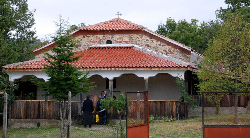 """Снимка на храм """"Св. вмчк Димитър Солунски"""", с. Марулево"""