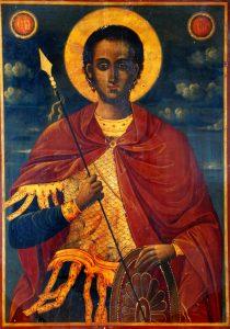 Икона на Св. вмчк. Димитър Солунски