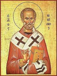 Икона на св. Николай Мирликийски Чудотворец
