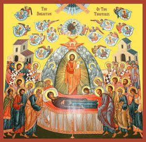 Икона на Успение Богородично