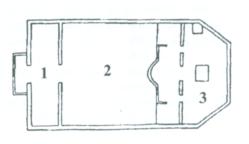Снимка на устройството на храма