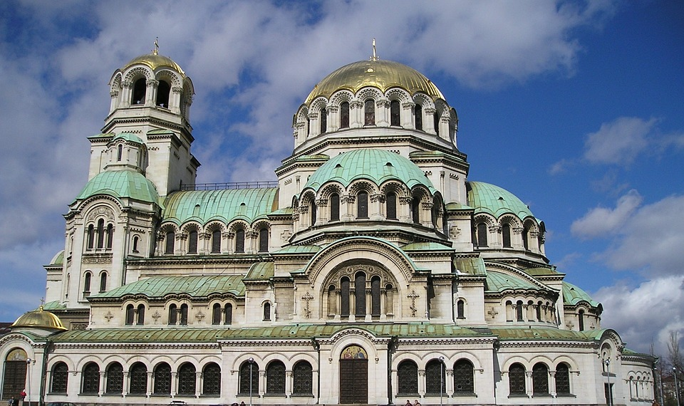 """Снимка на храм паметник """"Св. Александър Невски"""""""